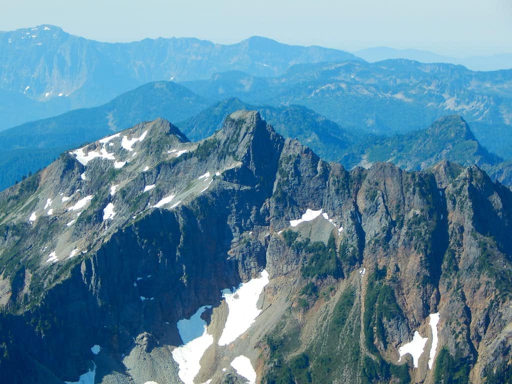 Silvertip Peak from South Gemini Peak