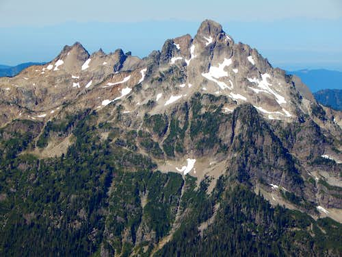 Del Campo Peak from South Gemini Peak