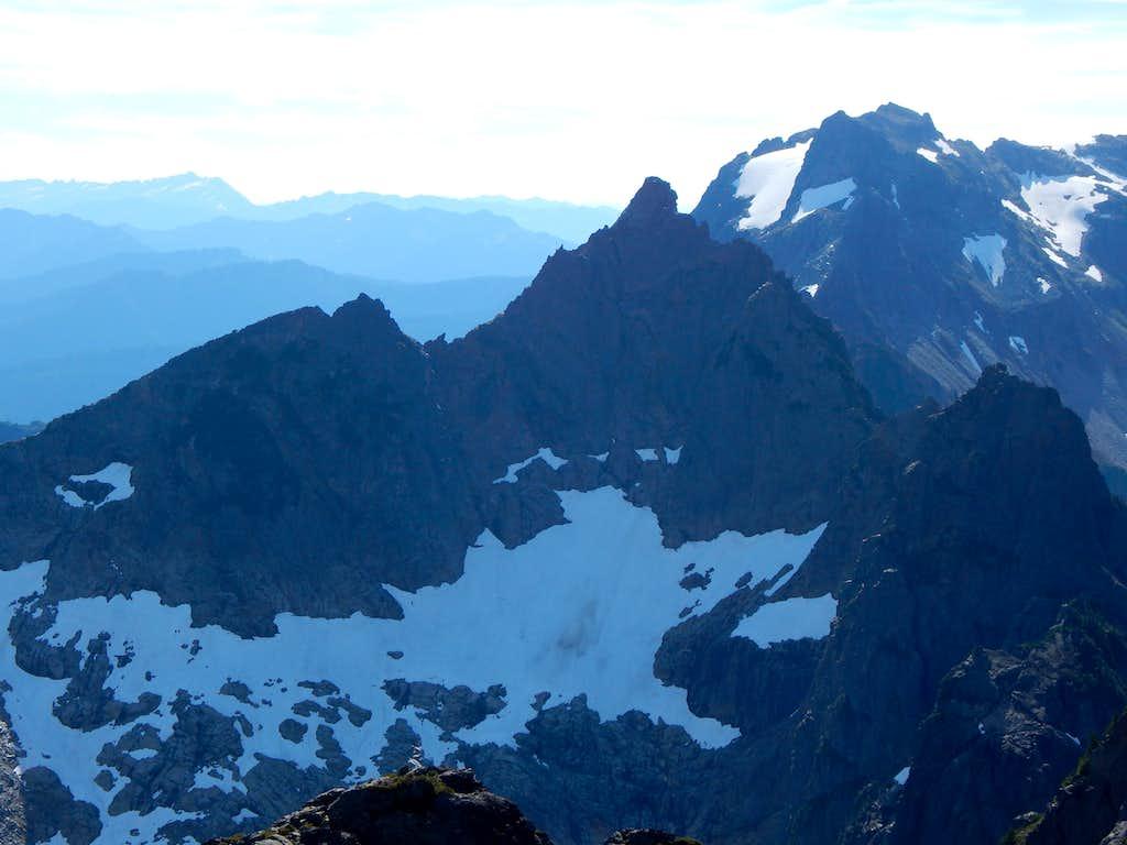 Foggy Peak from South Gemini Peak