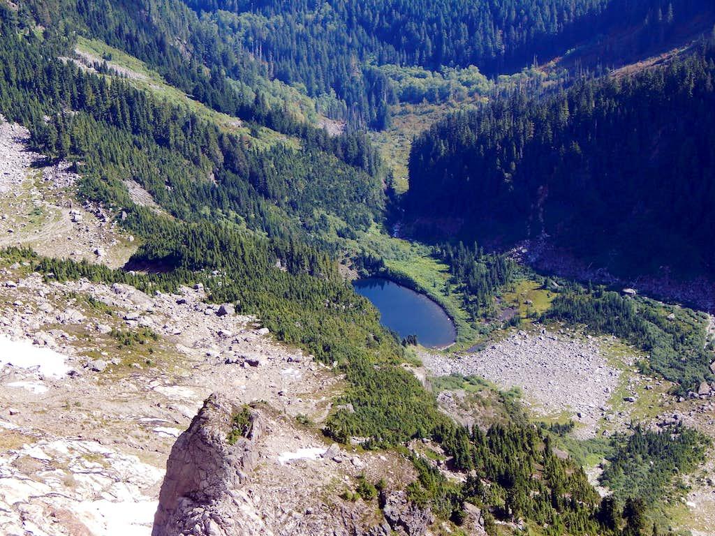 Ida Lake from South Gemini Peak