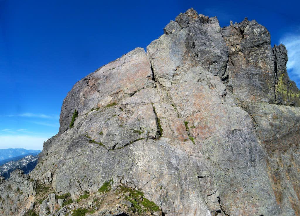South Gemini Peak summit block