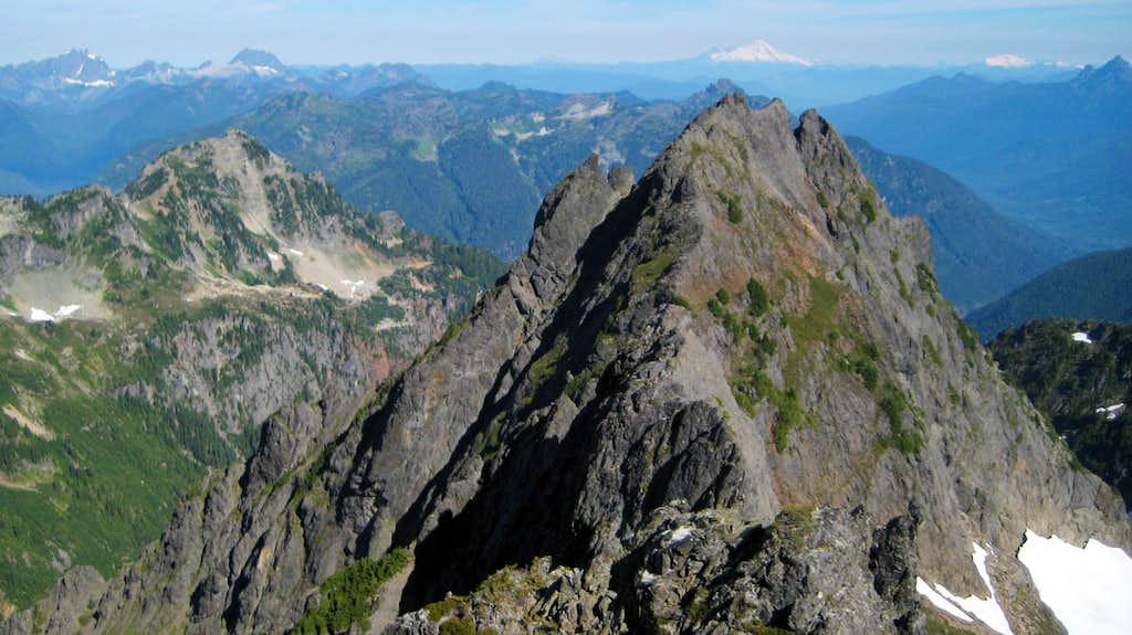 North Gemini Peak from South Gemini Peak