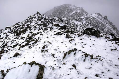 Summit of Urkundkolm (summer)