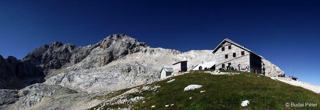 View of Triglav from Planika Hut