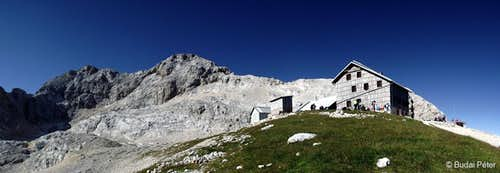 View of Triglav from Planika Hut
