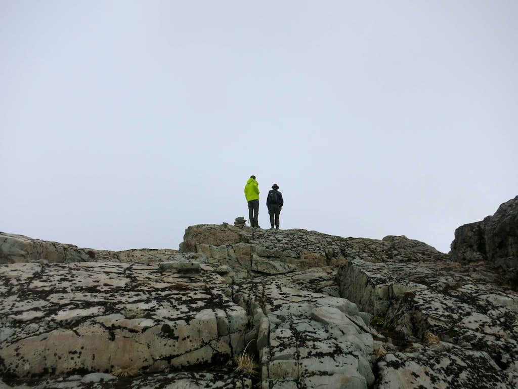 Climbing partners at Soroche's summit