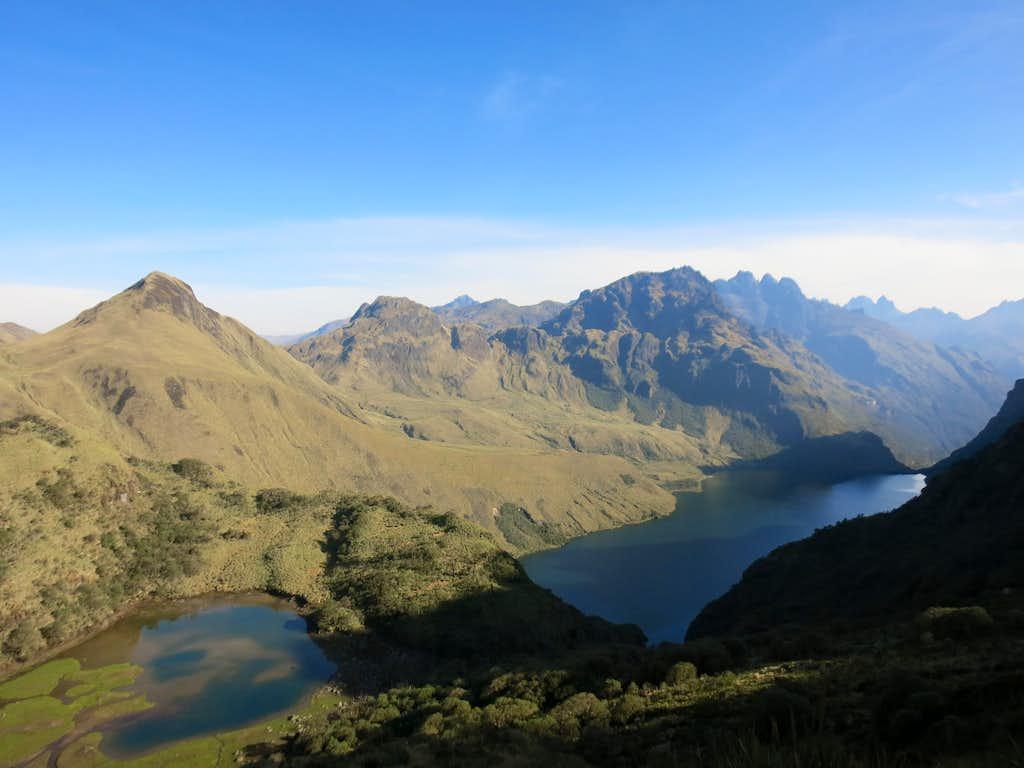 Ozogoche's lakes