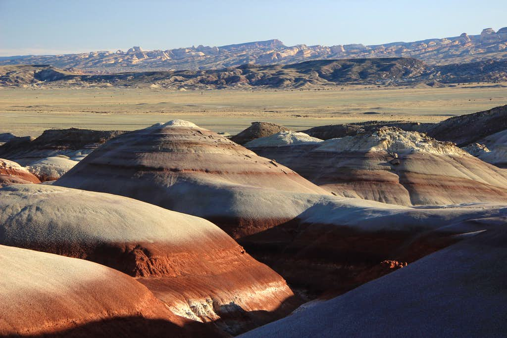 Bentonite Hills and Waterpocket Fold