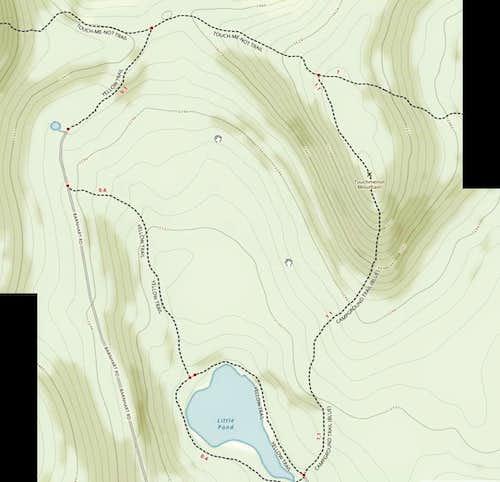 topo of trails