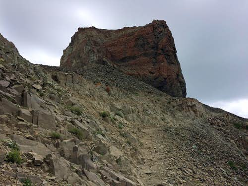 Tower before Timp summit