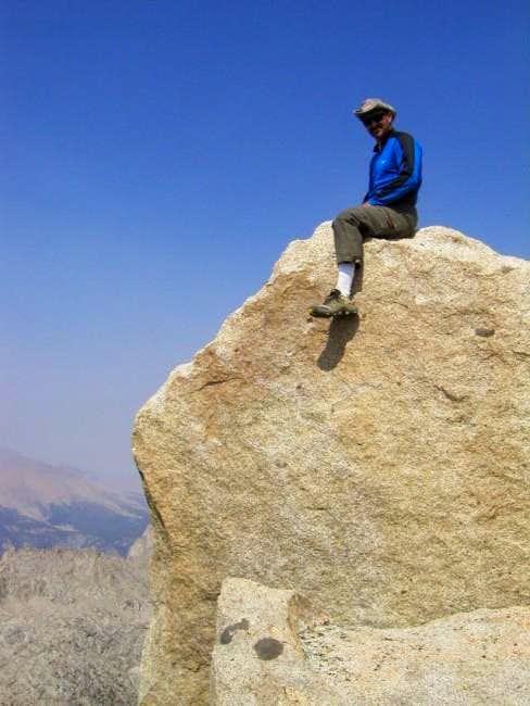 Ride the summit block! Photo...