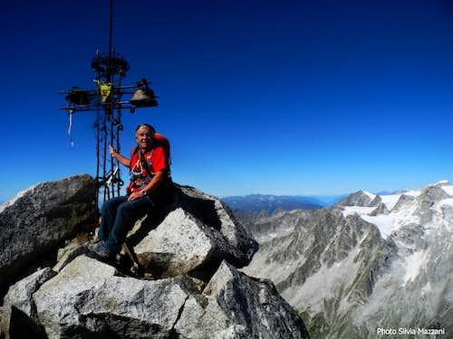 Summit of Corno di Cavento