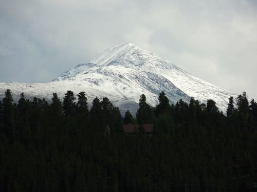 Snow on Bald Mountain