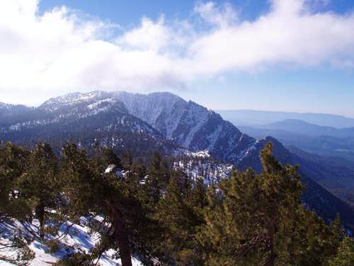 Tahquitz Peak as seen from...