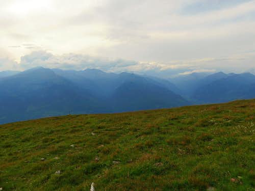 Eastern edge of Hohe Tauern