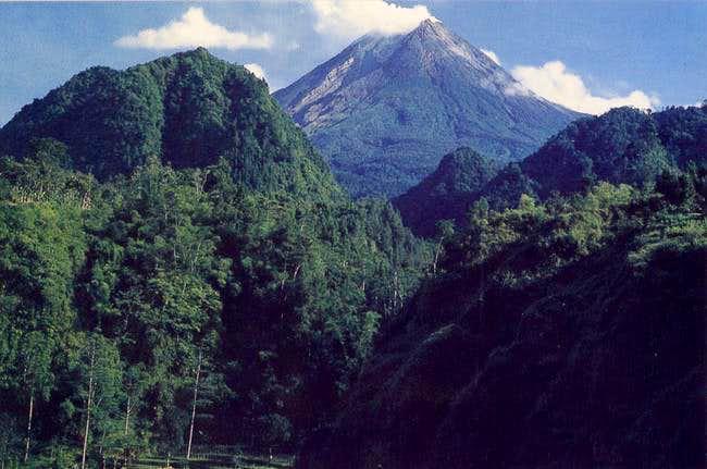 Mount Merapi Jogjakarta