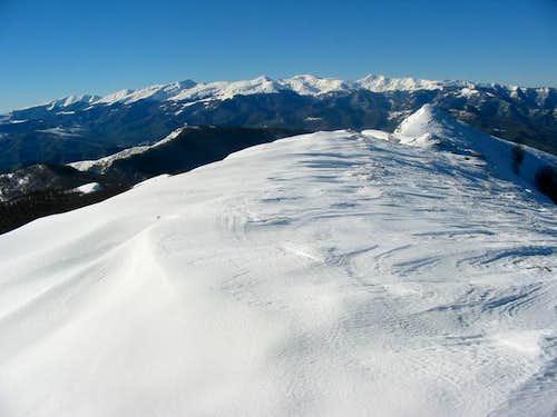 Monti della Laga seen from...