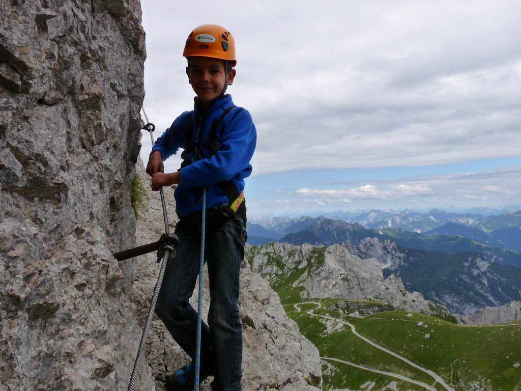 Mangart Slovenian route