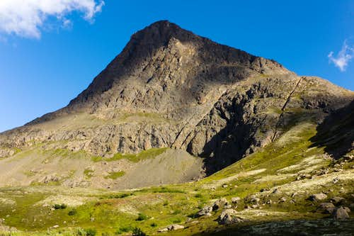 Late Summer South Ridge Of Williwaw