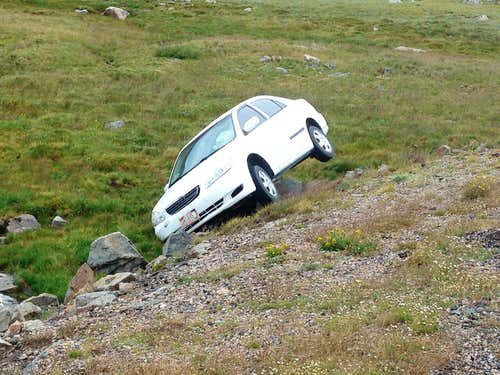 Mountain Road Accident