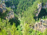 Elk Creek Canyon Closeup