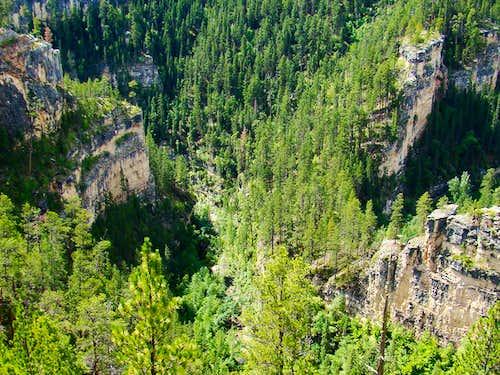Elk Creek Canyon Closeup