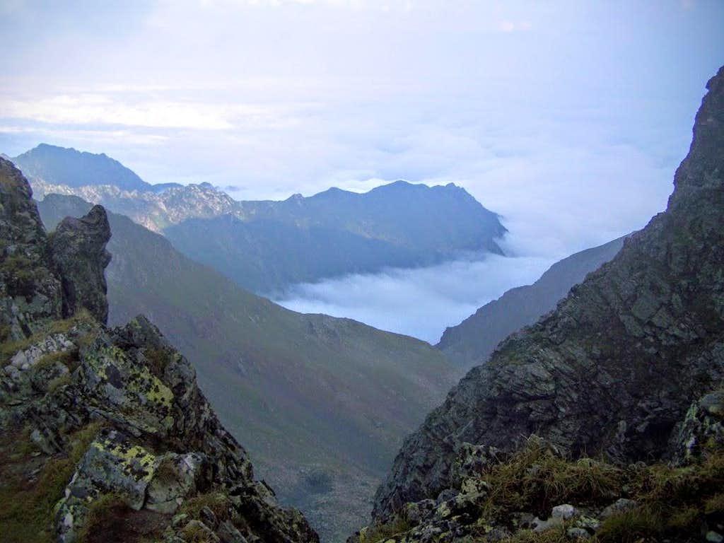 View from Vânătarea lui Buteanu