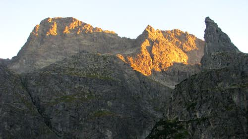 MSW & Cubryna at sundown