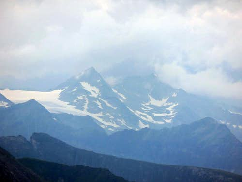 First glaciers in Alps from east