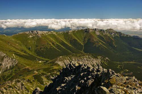 View from Jahňací štít