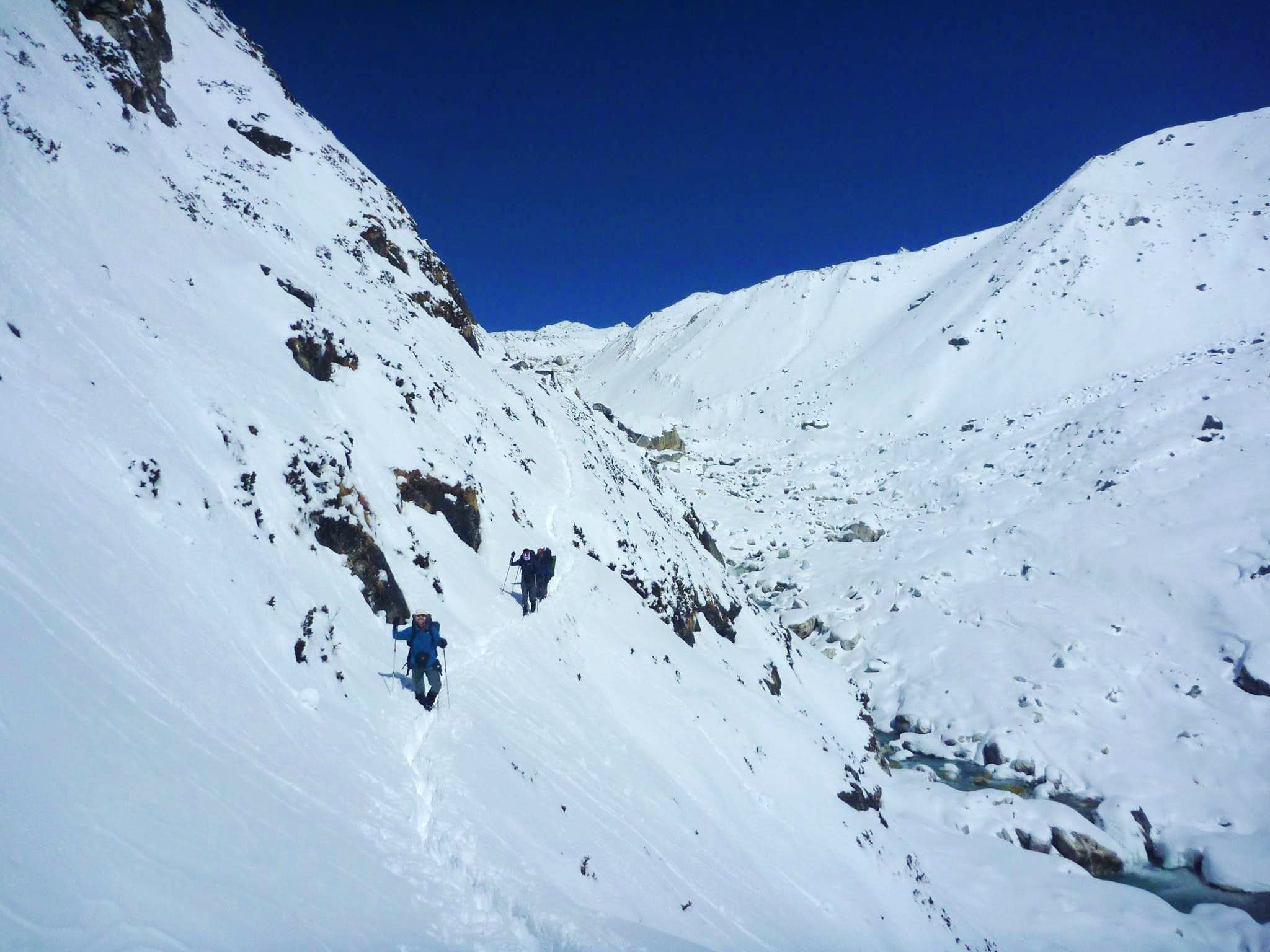 winter way toGokyo