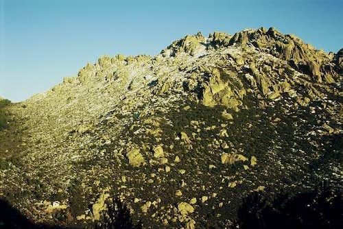 Yelmo crossing Collado de la Vistilla