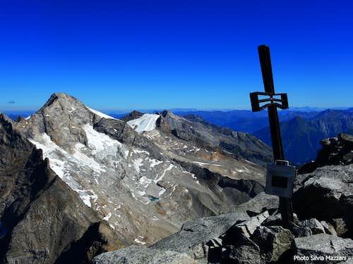Schrammacher summit cross