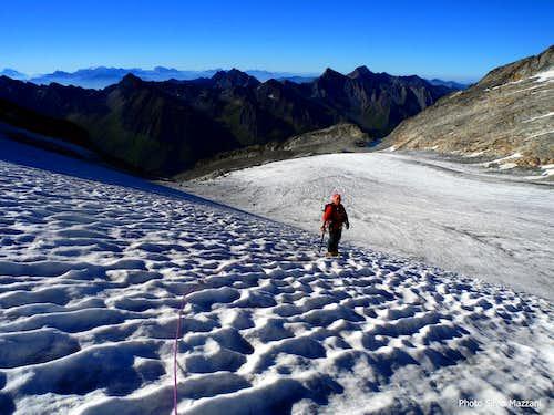 Snow-waves on Stampflkees glacier