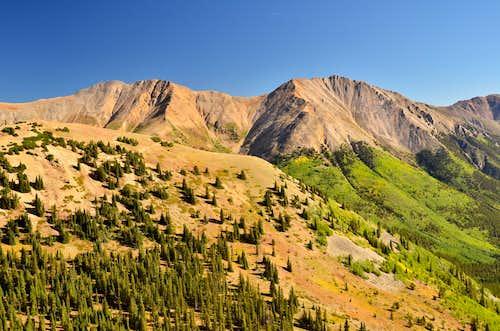 Mount Blaurock & Ervin Peak