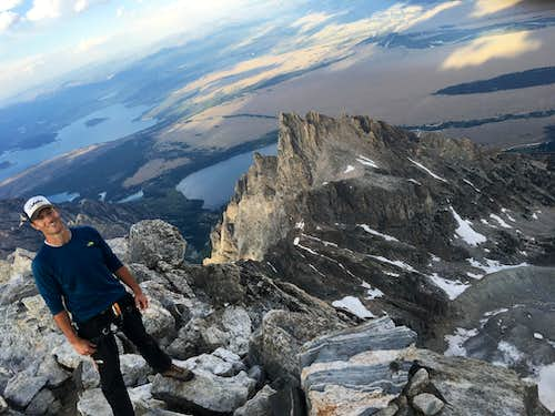 Grand Teton Summit July 2016