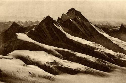 Fiescherhorn - Finsteraarhorn