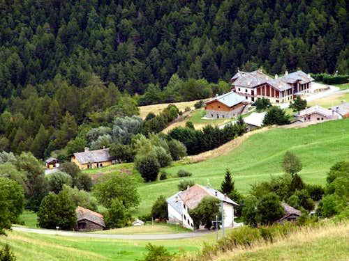 Middle Val Buthier Above Petit Buthier Villages 2016