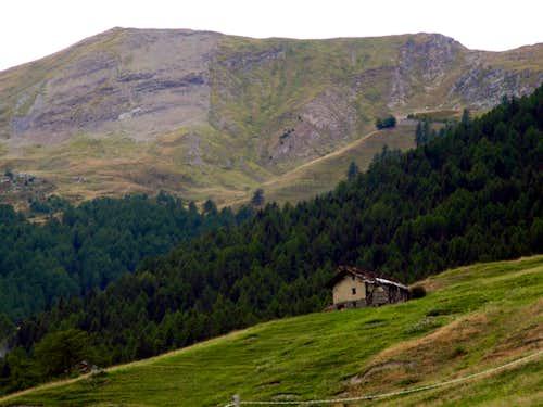 Val Buthier Going up towards Refuge de Chaligne 2016