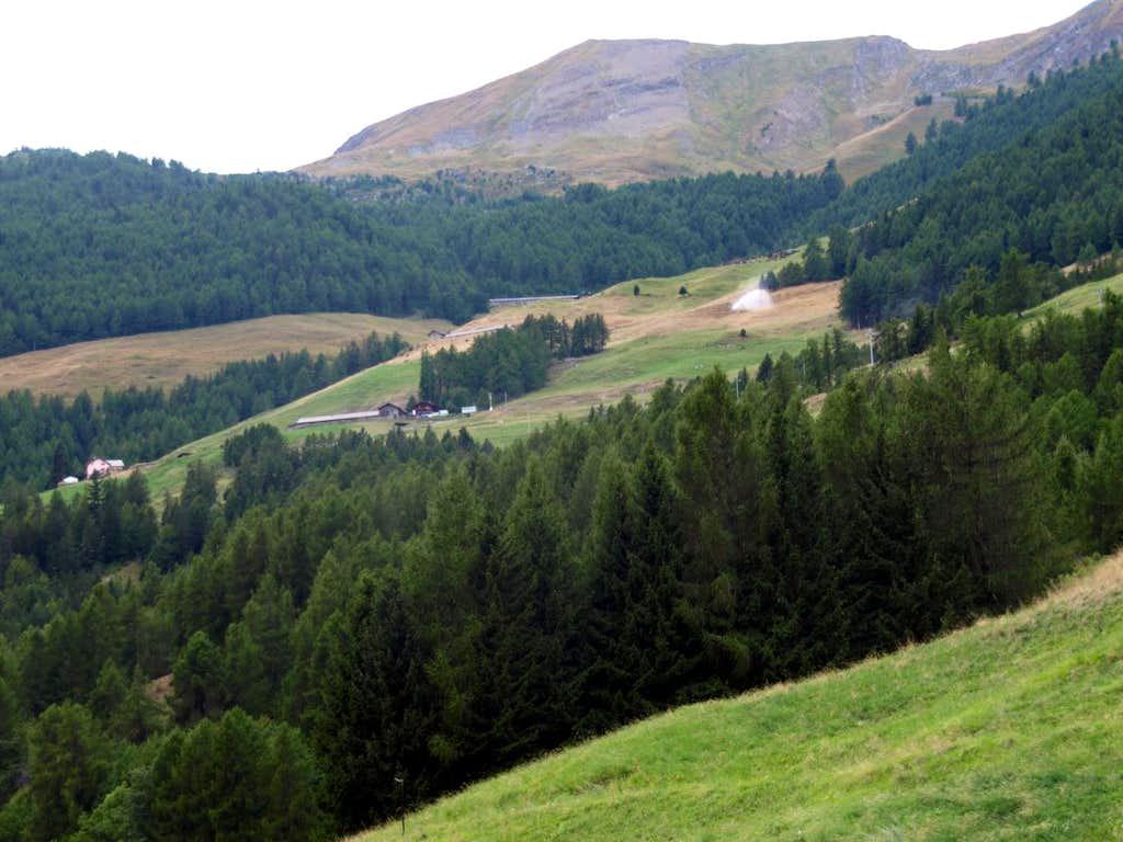 Val Buthier Alpages below Pointe de Chaligne 2016