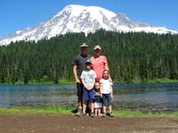 Reflection Lake family pic