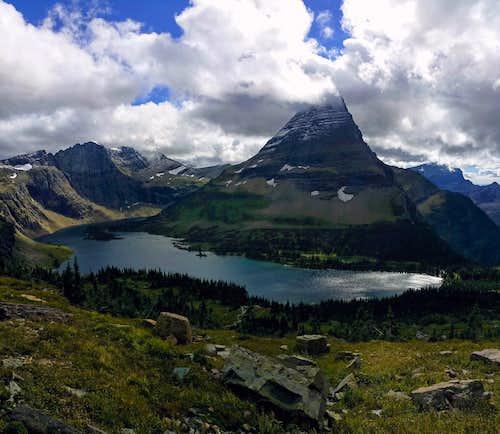 Bearhat Above Hidden Lake