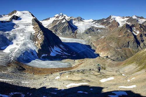 Linker Fernerkogel & Wildspitze from Geigenkamm