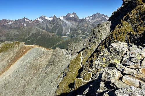 View from Pitztaler Jochköpfle