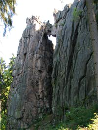 West face of Skalny Most