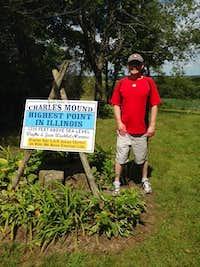 U.S. Highpoint #6 - Charles Mound (09-03-16)