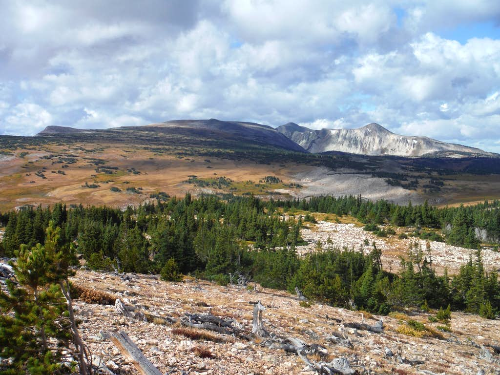 Brown Mountain, Medicine Bow Peak, and 11761
