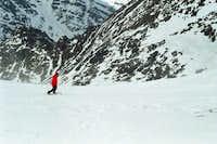 Snow-board cession in the...