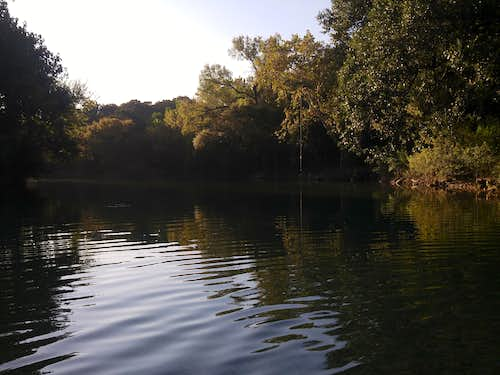 Swimming Hole at Gus Fruh