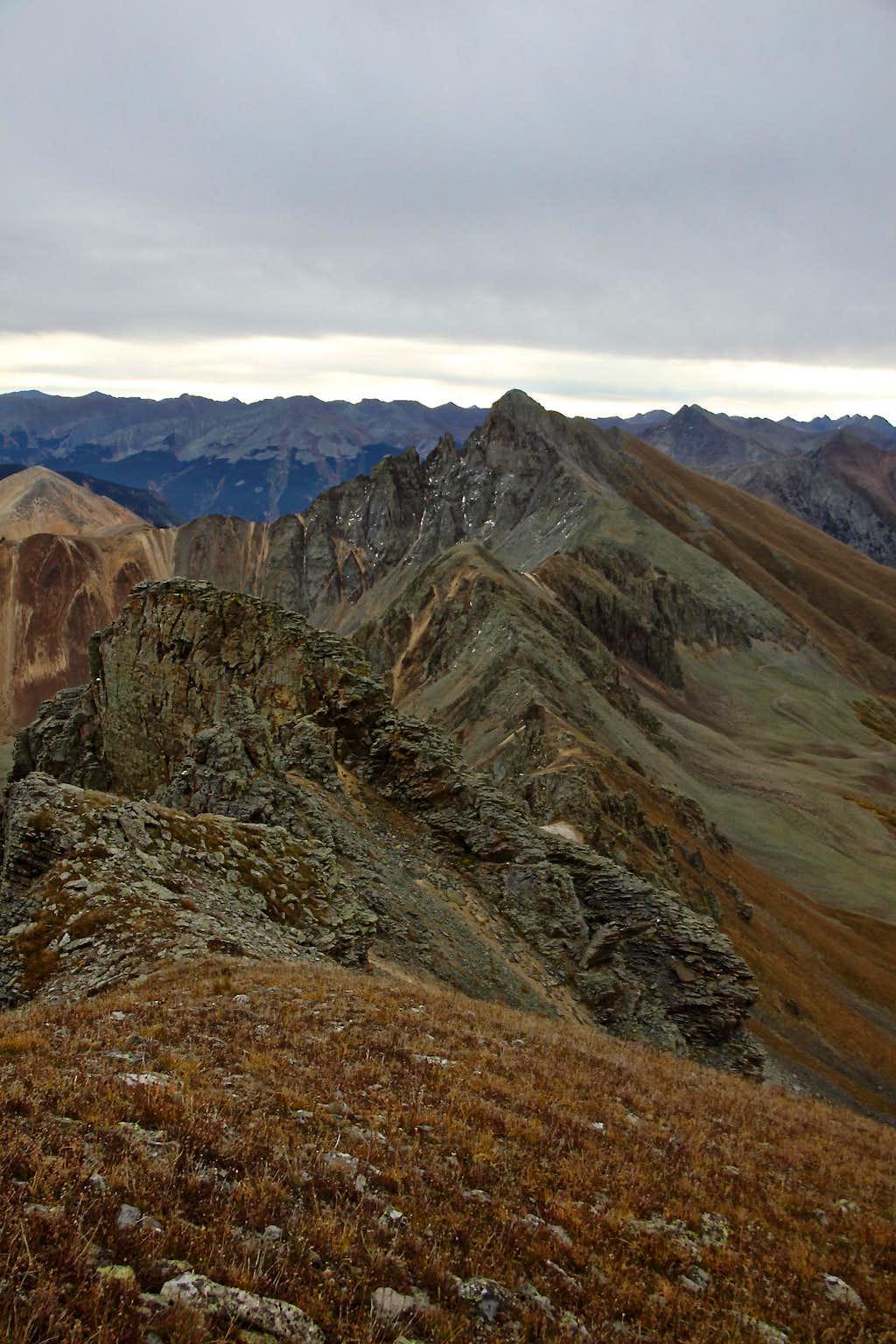 Ridge to V 5